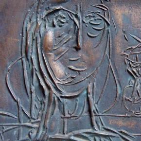 Portret kobiety /relief/